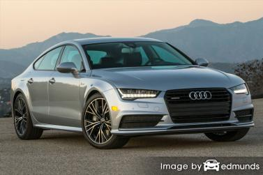Insurance rates Audi A7 in Houston