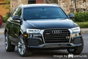 Insurance rates Audi Q3 in Houston