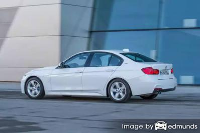 Insurance rates BMW 325i in Houston