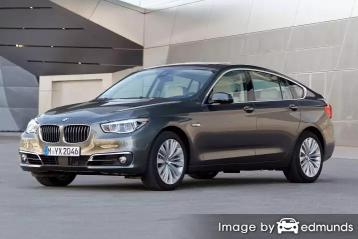 Insurance rates BMW 535i in Houston