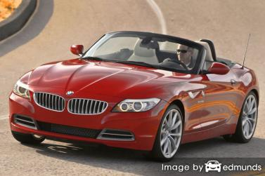 Insurance quote for BMW Z4 in Houston