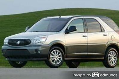 Insurance quote for Buick Rendezvous in Houston