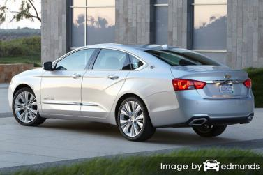Insurance quote for Chevy Impala in Houston