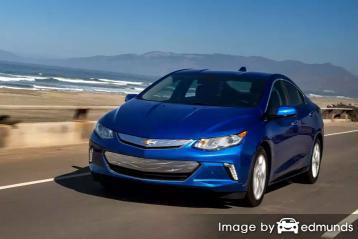 Insurance quote for Chevy Volt in Houston