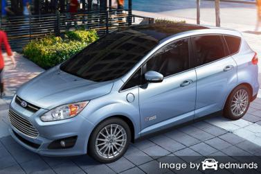 Insurance rates Ford C-Max Energi in Houston