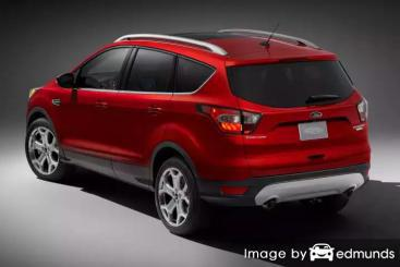 Insurance quote for Ford Escape in Houston