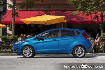 Insurance rates Ford Fiesta in Houston