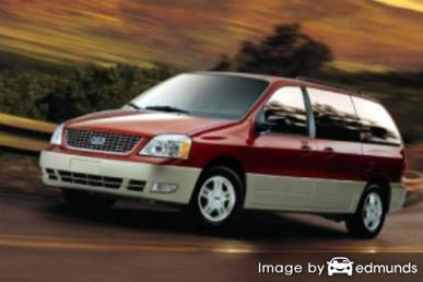 Insurance rates Ford Freestar in Houston