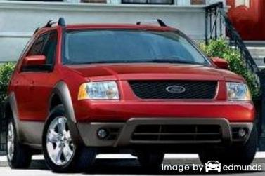 Insurance rates Ford Freestyle in Houston