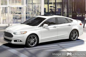 Insurance rates Ford Fusion in Houston