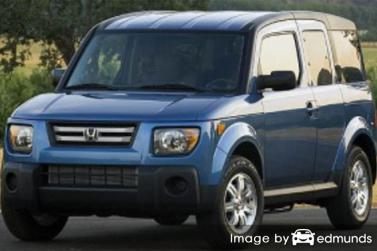 Discount Honda Element insurance