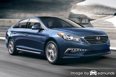 Insurance quote for Hyundai Sonata in Houston