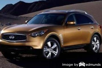 Insurance quote for Infiniti FX35 in Houston