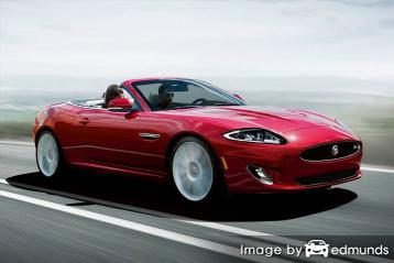 Insurance quote for Jaguar XK in Houston