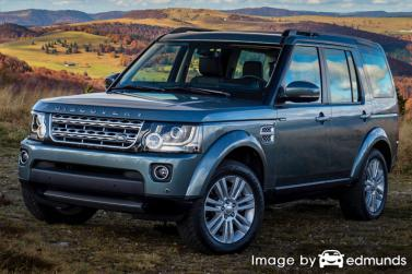 Insurance for Land Rover LR4