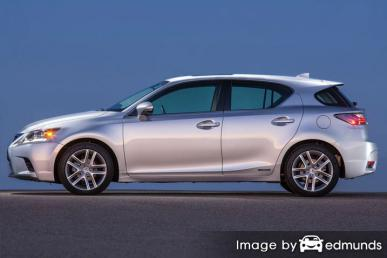 Insurance rates Lexus CT 200h in Houston