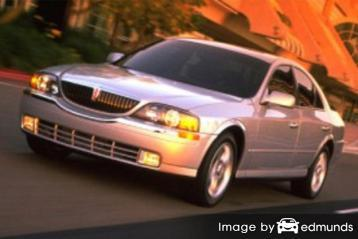 Insurance quote for Lincoln LS in Houston