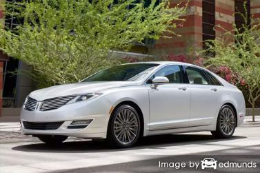 Insurance quote for Lincoln MKZ in Houston
