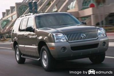 Insurance quote for Mercury Mountaineer in Houston