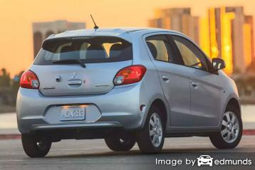 Insurance rates Mitsubishi Mirage in Houston