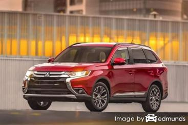 Insurance quote for Mitsubishi Outlander in Houston