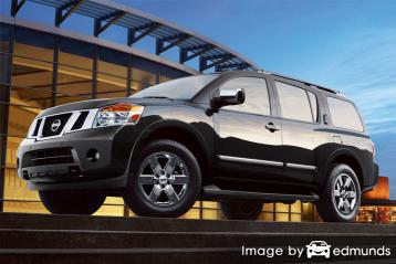 Insurance quote for Nissan Armada in Houston