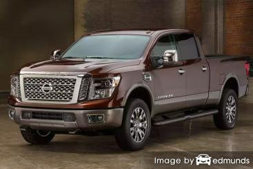Insurance quote for Nissan Titan XD in Houston