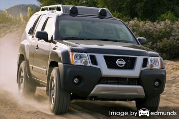 Insurance quote for Nissan Xterra in Houston