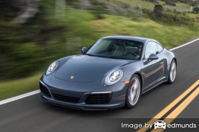 Insurance quote for Porsche 911 in Houston