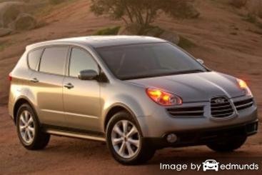 Insurance quote for Subaru B9 Tribeca in Houston