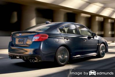 Insurance quote for Subaru WRX in Houston