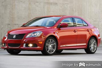 Insurance quote for Suzuki Kizashi in Houston