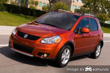 Insurance rates Suzuki SX4 in Houston