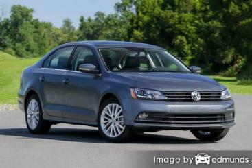 Insurance quote for Volkswagen Jetta in Houston