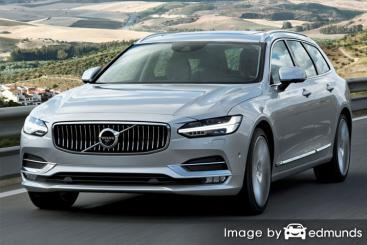 Insurance quote for Volvo V90 in Houston
